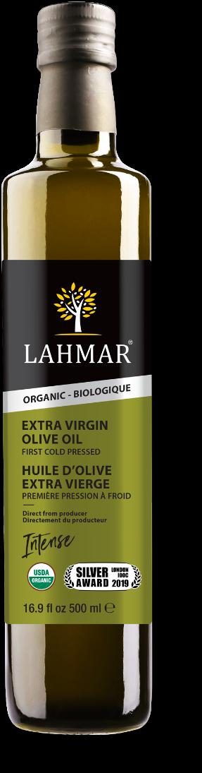 Huile d'olive intense biologique