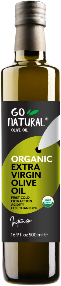 Go Natural – Intense Organic Olive Oil
